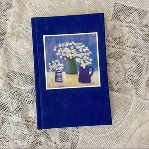 Gently used hardcover journal with lined pages